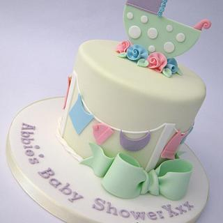 Unisex / Neutral Baby Shower Cake