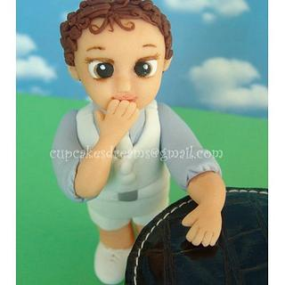 MY LITTLE CHRISTENING BOY - Cake by Ana Remígio - CUPCAKES & DREAMS Portugal