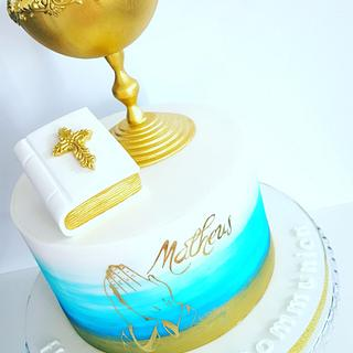 Holy communion cake  - Cake by SWEET ART Anna Rodrigues