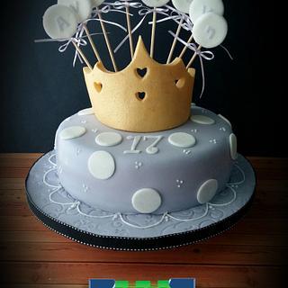 Dots Cake for a Princess