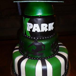 Jesse's graduation cake