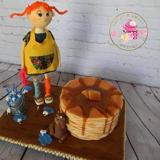 Pippi Longstocking - Cuties Children's Book Collaboration