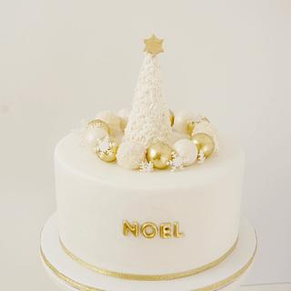 White Christmas - Cake by funni