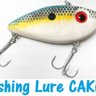 Fishing Lure Cake
