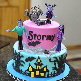 Vampira Birthday Cake