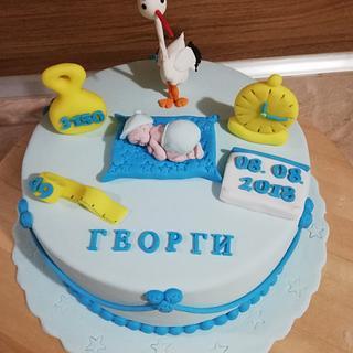 Беб е  - Cake by Bibi