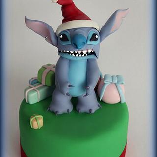 cake topper stitch