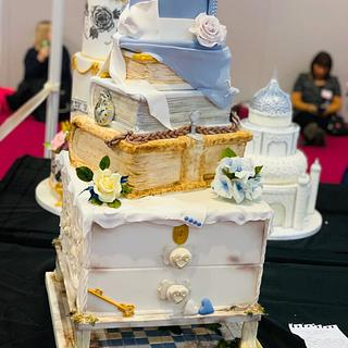 One My Cake International entries  - Cake by Andrea