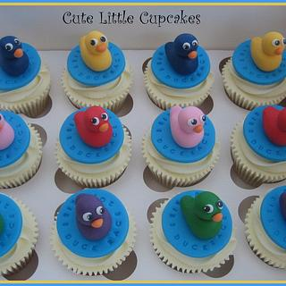 Norwich Annual Duck Race Cupcakes