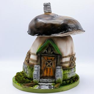 Mushroom cake - Cake by Olina Wolfs