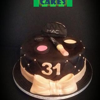 Make Up - Cake by LiliaCakes