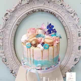 he or she ? genderreveal cake