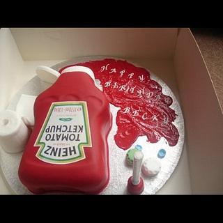 Red ketchup
