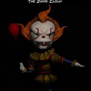 Pennywise The Sugar Clown - Cake by Dirk Luchtmeijer