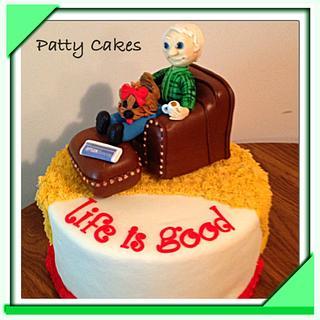 Life Is Good Cake
