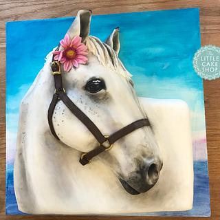 Large 3D Horse Cake