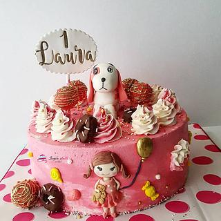 Little girls cake