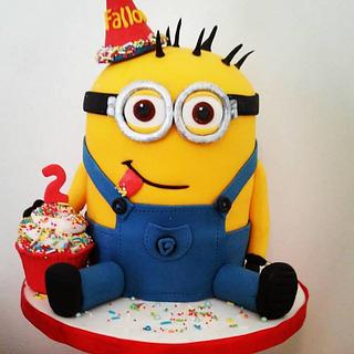 Minion cake for Fallou