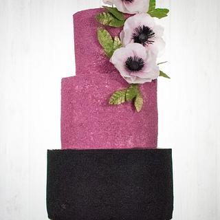 Ballerina Inspired Birthday Cake