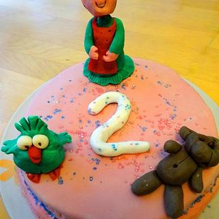 Birthday cakes for a day child