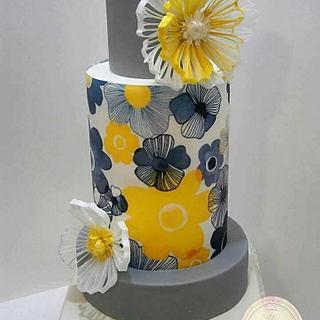 FILIGREE Wedding Cake
