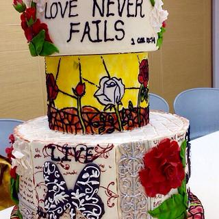Elements of Love - An Anniversary Cake