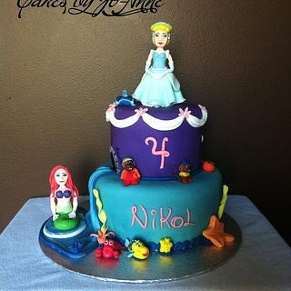 Disney's Princess- Cinderella and Ariel