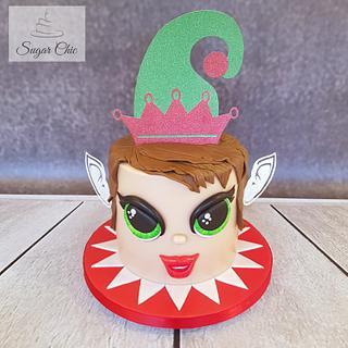 x Christmas Elf Cake x