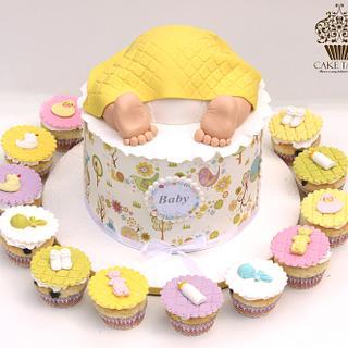 baby rump - Cake by Meenal Rai Shejwar