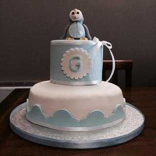 Christening cake - Cake by Eleonora Del Greco