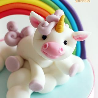Baby Unicorn Cake Topper