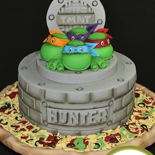TMNT Bithday Cake