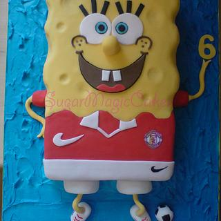 manchester united spongebob