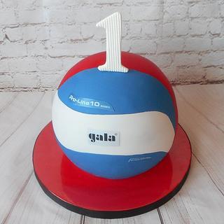 Volleyball cake