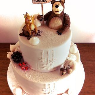 bear cake - Cake by timea