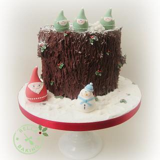 Yule Stump! - Cake by Inga Ruby Cakes (formerly Bella Baking)