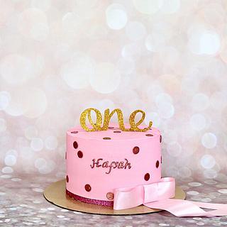Girly birthday cake