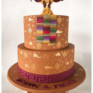 Tibetan Wedding Cake