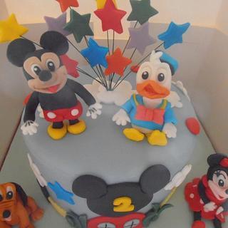 Character childrens cake