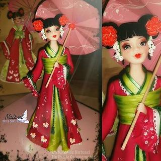 sweet geisha - Cake by L'atelier de Natasel