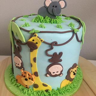 Safari cake - Cake by LanaLand