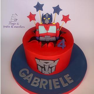 Transformers cake - Cake by Mariana Frascella