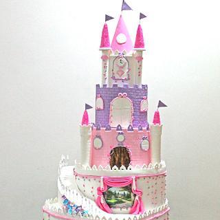 4 feet tall Grand Princess Castle