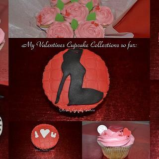 valentine cupcakes - Cake by glenda