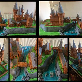 Hogwarts castle - Cake by joe duff