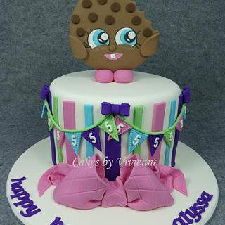 Shopkins Kooky Cookie Birthday Cake - Cake by Cakes by Vivienne