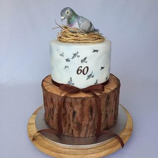 Pigeon cake