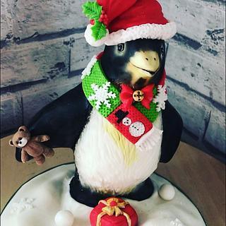 Kippie the Christmas penguin