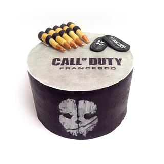 Ghost - A Call of Duty cake - Cake by Sweet Rocket Queen (Simona Stabile)