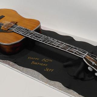 Yamaha Acoustic Guitar - Cake by Nada